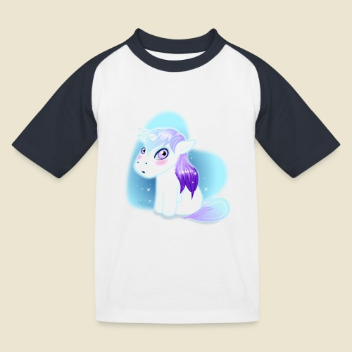 Licorne n°2 - T-shirt baseball Enfant