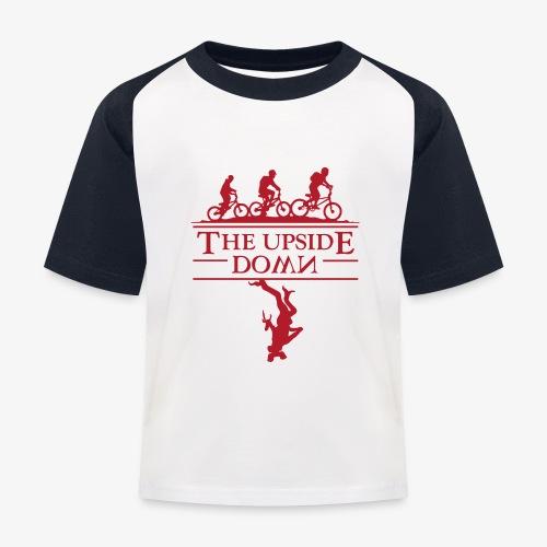 upside down - Koszulka bejsbolowa dziecięca