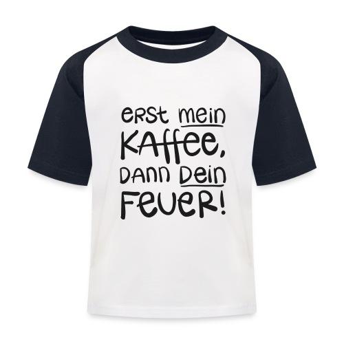 Tassentext - Kinder Baseball T-Shirt