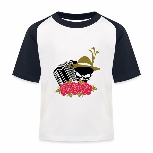 Rock Harmonika - Kinder Baseball T-Shirt