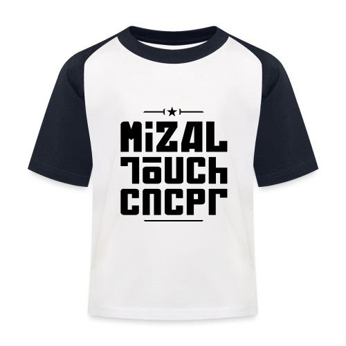 Logo MiZAL Touch Concept - T-shirt baseball Enfant