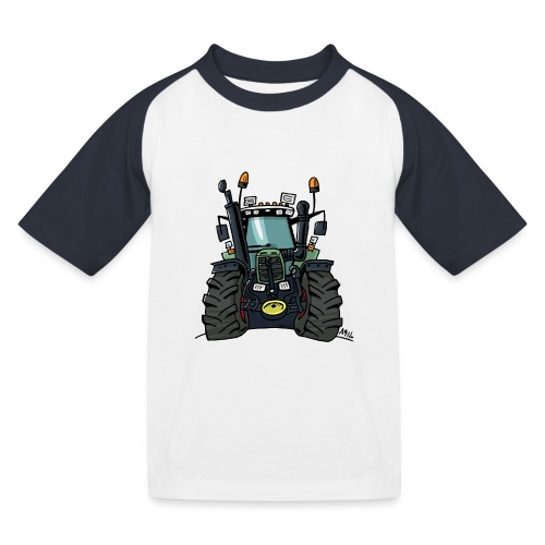 0255 F 824 - Kinderen baseball T-shirt