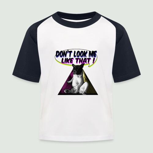 bouledogue français - T-shirt baseball Enfant