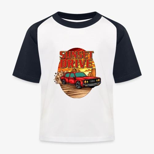 Sunset Drive - Kinder Baseball T-Shirt