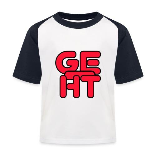 Geiht - Camiseta béisbol niño