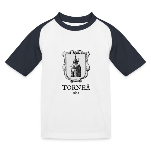 Tornea 1621 harmaa - Lasten pesäpallo  -t-paita