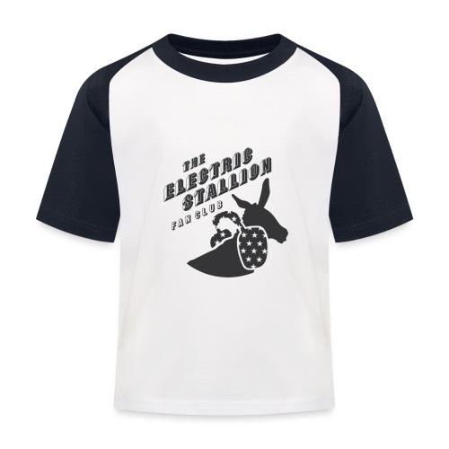 stallion badges - Kids' Baseball T-Shirt
