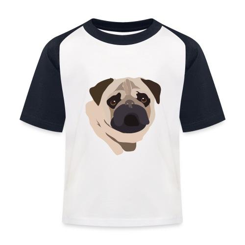 Pug Life - Kids' Baseball T-Shirt