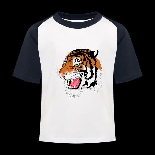 Sumatra Tiger - Kinder Baseball T-Shirt