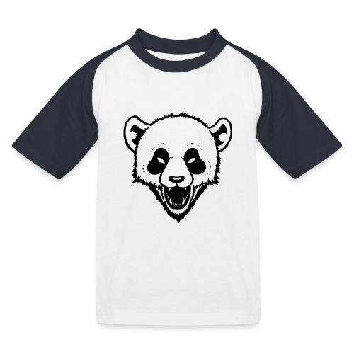 Panda - Kinder Baseball T-Shirt