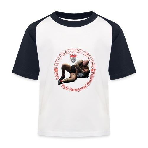 humungus kampf 2 - Kinder Baseball T-Shirt