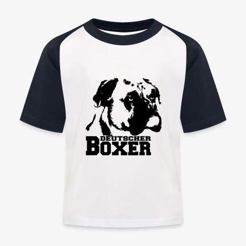 Deutscher Boxer - Kinder Baseball T-Shirt