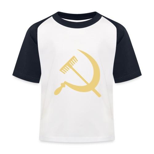 Falce e rastrello, sickle and rake! - Maglietta da baseball per bambini