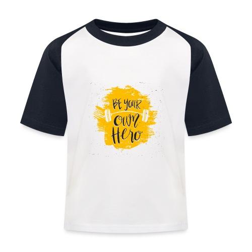GYM Hero - Lasten pesäpallo  -t-paita
