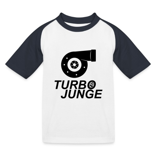 Turbojunge! - Kinder Baseball T-Shirt