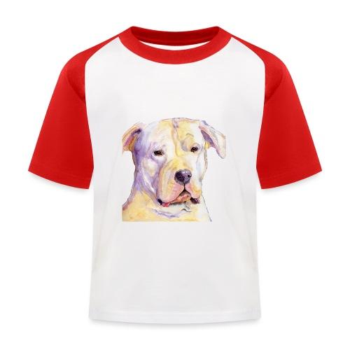dogo argentino - Baseball T-shirt til børn