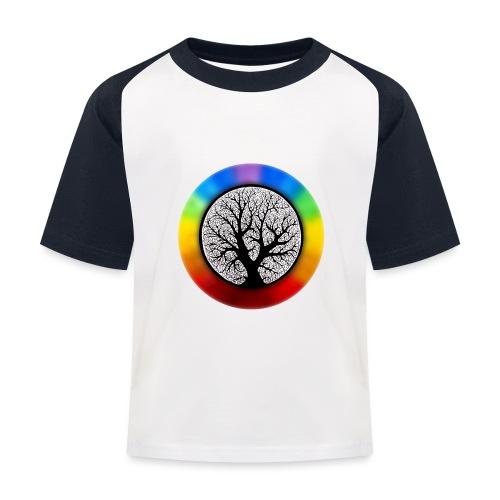 tree of life png - Kinderen baseball T-shirt