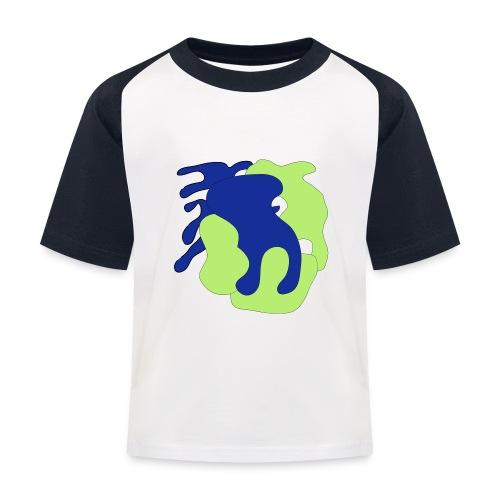 Macchie_di_colore-ai - Maglietta da baseball per bambini