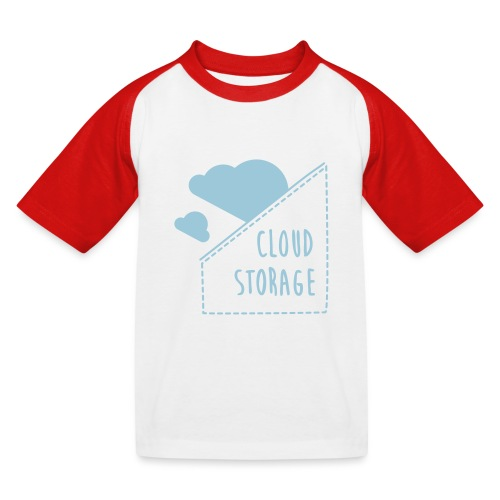 Cloud Storage - Kinder Baseball T-Shirt