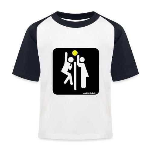 Toilet Volley - Maglietta da baseball per bambini
