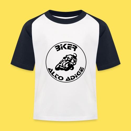 BikerAltoAdige circle logo Jacket - Maglietta da baseball per bambini
