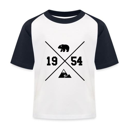 Karhuvuori -baseballhuppari - Lasten pesäpallo  -t-paita
