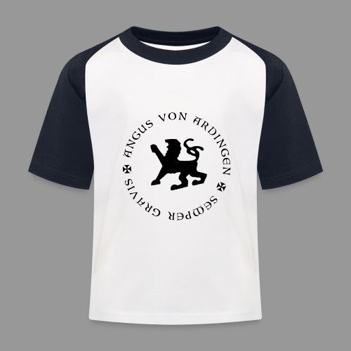 angus von ardingen semper gravis - Kinder Baseball T-Shirt