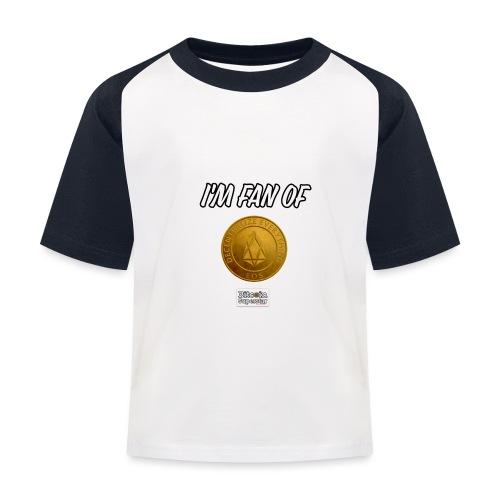 I'm fan of Eos - Maglietta da baseball per bambini