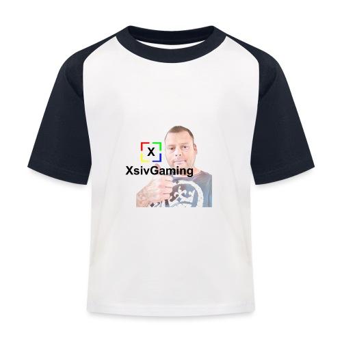 xsivgaming face - Kids' Baseball T-Shirt