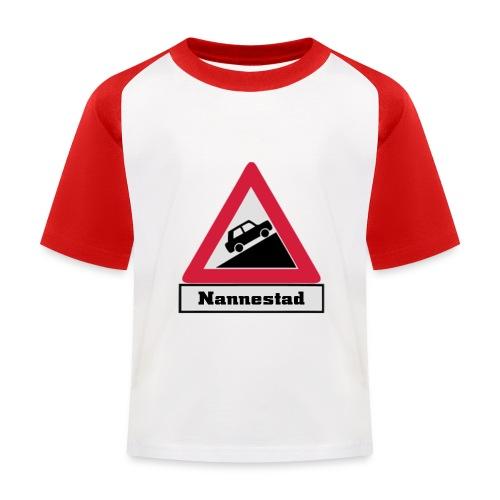 brattv nannestad a png - Baseball-T-skjorte for barn