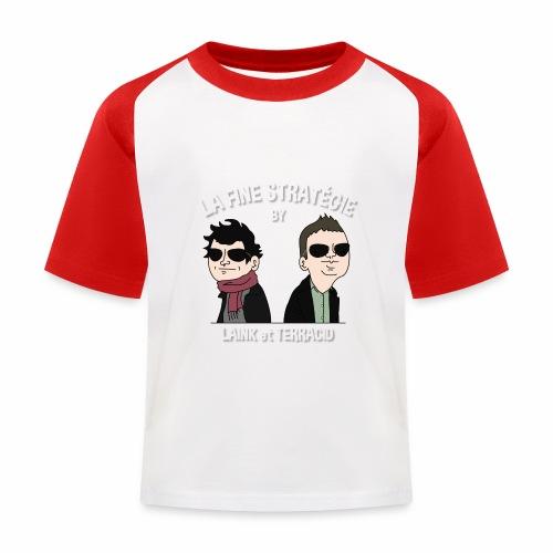 lafinestratégie - T-shirt baseball Enfant