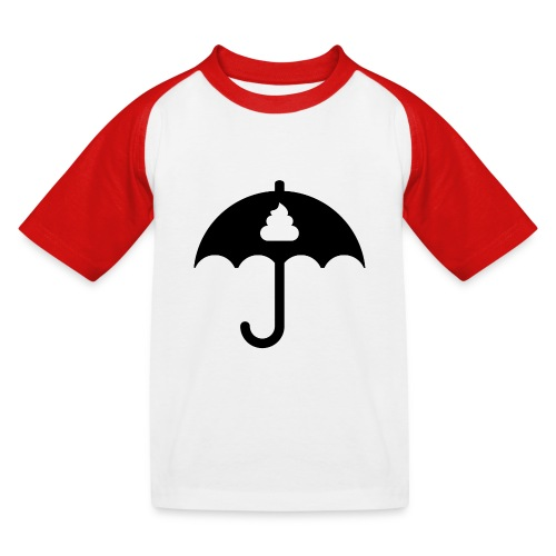 Shit icon Black png - Kids' Baseball T-Shirt