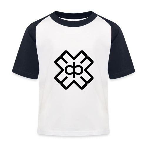 d3ep logo black png - Kids' Baseball T-Shirt