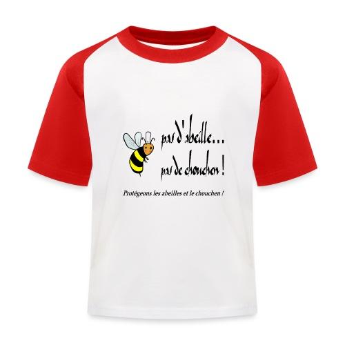 Pas d'abeille, pas de chouchen - T-shirt baseball Enfant