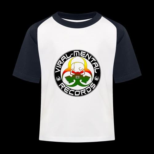 Viral Mental Records Logo - Kids' Baseball T-Shirt