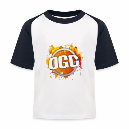 Merchlogo mega png - Kinderen baseball T-shirt