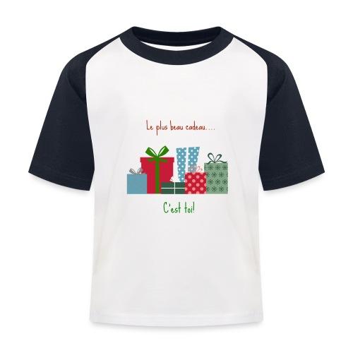 Le plus beau cadeau - T-shirt baseball Enfant