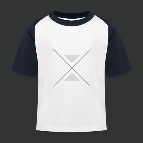 hipster triangles - Kids' Baseball T-Shirt