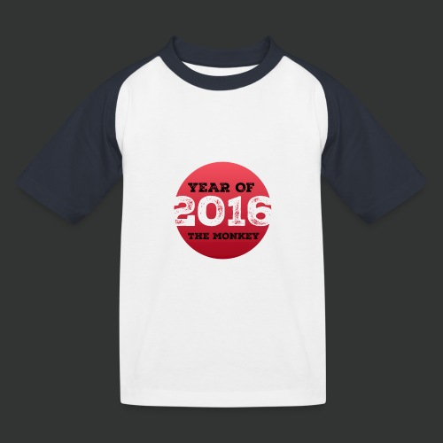 2016 year of the monkey - Kids' Baseball T-Shirt