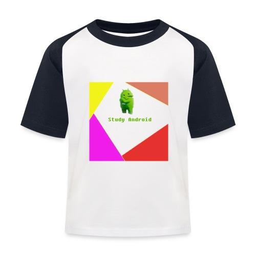 Study Android - Camiseta béisbol niño