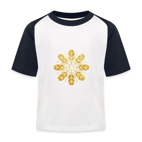 Inoue clan kamon in gold - Kids' Baseball T-Shirt