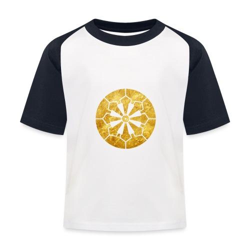 Sanja Matsuri Komagata mon gold - Kids' Baseball T-Shirt