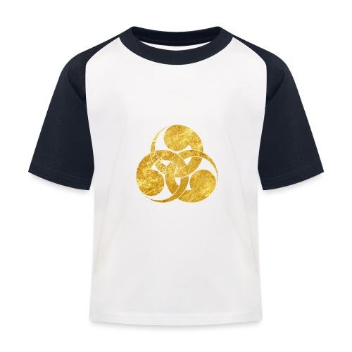 Tadpole Mon Japanese samurai clan - Kids' Baseball T-Shirt