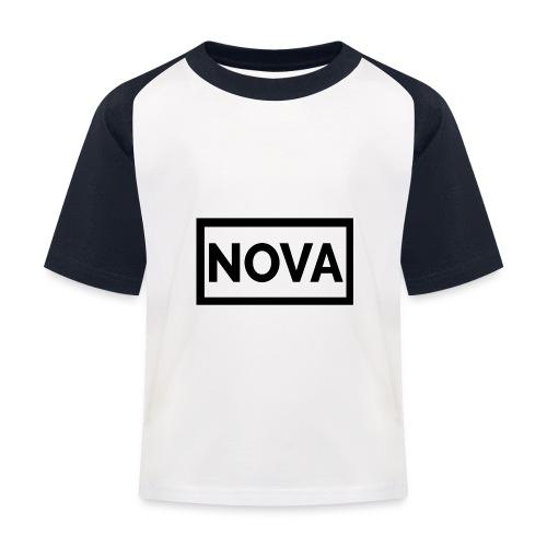 Red Nova Snapback - Kids' Baseball T-Shirt