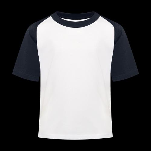 logo hvid png - Baseball T-shirt til børn