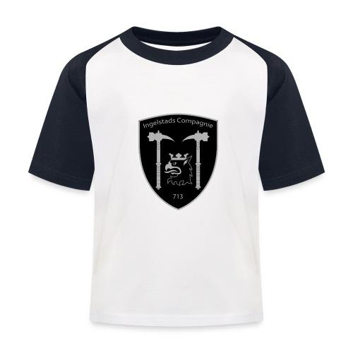 Kompanim rke 713 m nummer gray ai - Baseboll-T-shirt barn