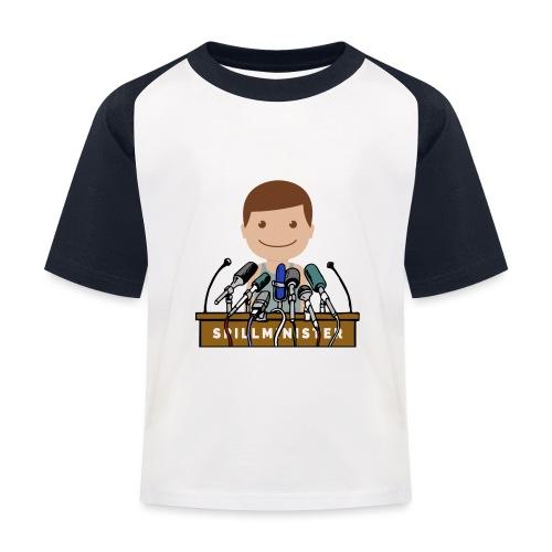 Spillminister logoen - Baseball-T-skjorte for barn