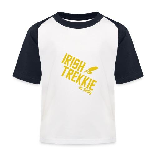 Go Boldy 2 - Kids' Baseball T-Shirt