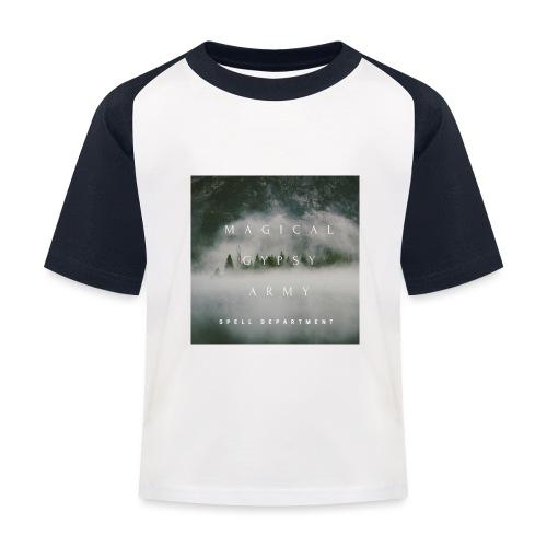 MAGICAL GYPSY ARMY SPELL - Kinder Baseball T-Shirt
