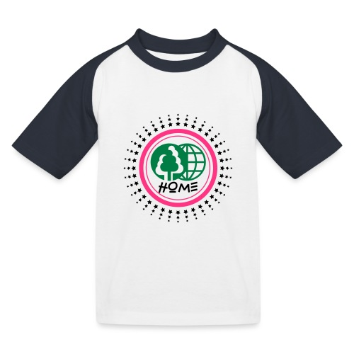 Planète home sweet home - Kids' Baseball T-Shirt